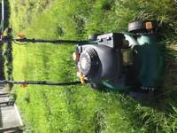 Petrol lawnmower spaires