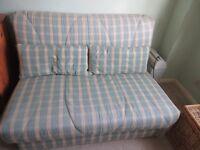 Click clack style sofa bed