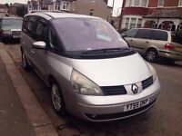 Renault espace 1.9tdi automatic