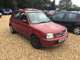 2000 Nissan Micra 1.3 Auto 1 Years MOT Service History 3 Former Keepers Cheap Car