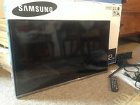 Samsung 32 inch Full HD 1080p LED TV. Boxed and in excellent condition.