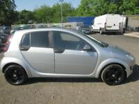 SMART FORFOUR HATCHBACK 1.3 Passion 5dr Softouch Auto (silver) 2005