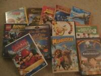 Bundle of Children's DVD's