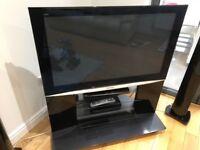 "Panasonic 42"" Viera Plasma TV with Cabinet Stand"