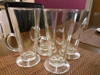 Latte glasses