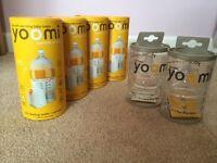 Yoomi Bottles, Warmers and Teats, Unused and Unopened.