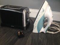 Toaster & iron
