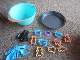 children's baking set unused