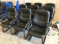 Executive Black Conference Chairs