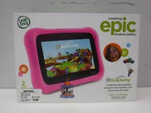 Leap Frog Epic Academy Edition (Factory Sealed) - We Buy and Sell Tablets at Cash Pawn - 117679 - FY26405