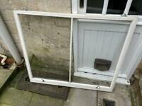 Reclaimed Wooden sash windows