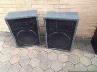 """Speakers 15"""" x2"""