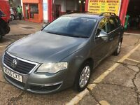 2007 VW PASSAT 1.9 TDI DIESEL ESTATE 1 OWNER WITH FULL SERVICE 2 KEYS