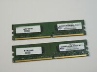 Atp AJ56K64E8BJE6S - F - BC (2 GB, PC2-5300 (DDR2-667), DDR2 RAM, 667 MHz, SO DIMM..
