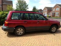 Subaru Forester AWD GLS. Panoramic Sunroof, Air Con, Heated Seats, Electric windows & mirror, FSH