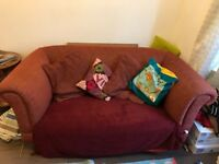 Stylish large two seater sofa for sale