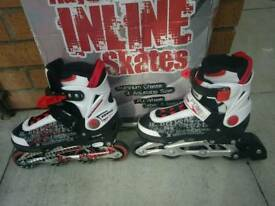 Blindside Inline Skate 1-3 (UK) Red/White