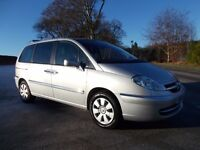 2009 59 CITREON C8 SX 2.0 HDI 120 DIESEL 7 SEATER 6 SPEED MANUAL