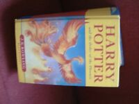 Harry Potter and the Order of the Phoenix by J.K. Rowling Hard Back Good Condition no loose cover.