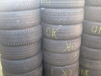 6MM+ PART WORN TYRES NEW LOAD JUST IN