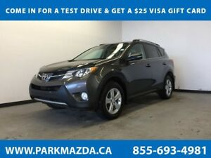 2013 Toyota RAV4 XLE AWD - Bluetooth, Heated Front Seats, Moonro