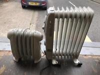 Oil filled electric radiators £10 a piece