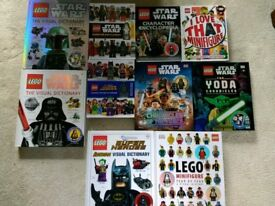 Lego Book collection with figures