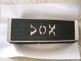 Vox Model V847 Wah- Wah pedal/stompbox/ effects unit for electric guitar - USA