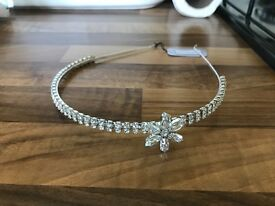G & S designs headband suitable for bride, bridesmaid or party guest
