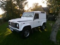 Land Rover Defender,FSH,lots of extras,low mileage