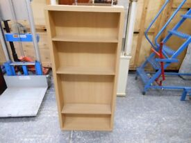 4 shelf narrow adjustable bookshelf in excellent condition. can deliver