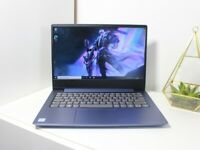 Blue Lenovo laptop Full HD, 8th Gen. i3 processor, SSD, Windows 10