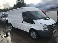 FORD TRANSIT 115 T350L RWD SPARES OR REPAIRES 2010REG FOR SALE