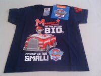 BABY BOY'S PAW PATROL T-SHIRT 18-24 MONTHS OR 2-3 YEARS NEW WITH TAG