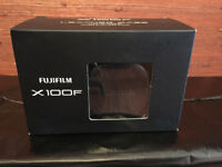 Fujifilm X100F Leather Case (Black) LC-X100F
