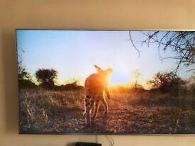 SAMSUNG 4K TV 75 INCHES - NEARLY NEW