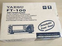 Yaesu FT-100 HF/VHF/UHF Transceiver