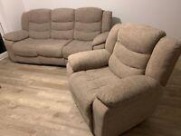 Oak Furniture Land Sofa & Armchair