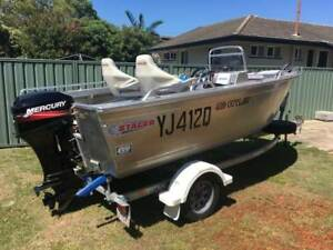 Stacer Outlaw 429 with extras Redcliffe Redcliffe Area Preview