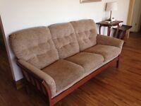 3 Seater Sofa & Chair - Cintique