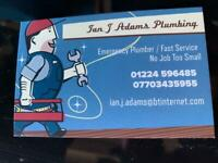 PLUMBER AVAILABLE 24/7 (EMERGENCY SERVICE PROVIDED) NO JOB TOO SMALL/FAST SERVICE