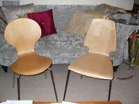 2 Ikea Dining Chairs