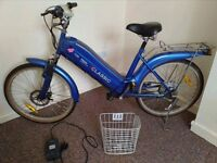 ELECTRIC BIKE)-Thompson euro classic electric bike £500 ono