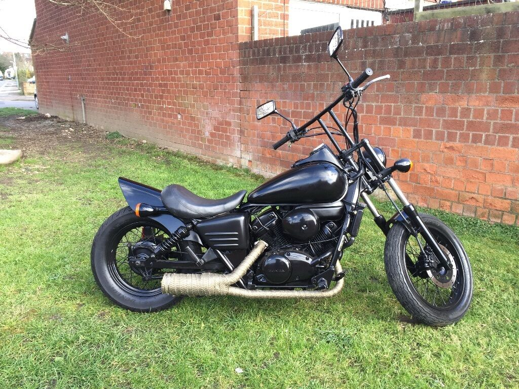 14 Model Honda 70 >> Honda Shadow VT 125 Custom Bobber Learner Legal | in ...