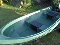 Boat 10ft Pioner 10, fishing, tender, dinghy, Yamaha F2.5 Outboard