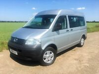 VW T5/T30 CAMPERVAN 2008 SILVER IMMACULATE+DRIVEAWAY AIR AWNING