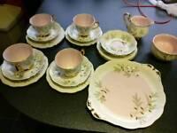 Vintage tea set - Royal Albert Braemar