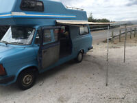 Classic mk2 transit campervan 4 berth ** NEW MOT ** barn find project low miles swap, not mk1 camper