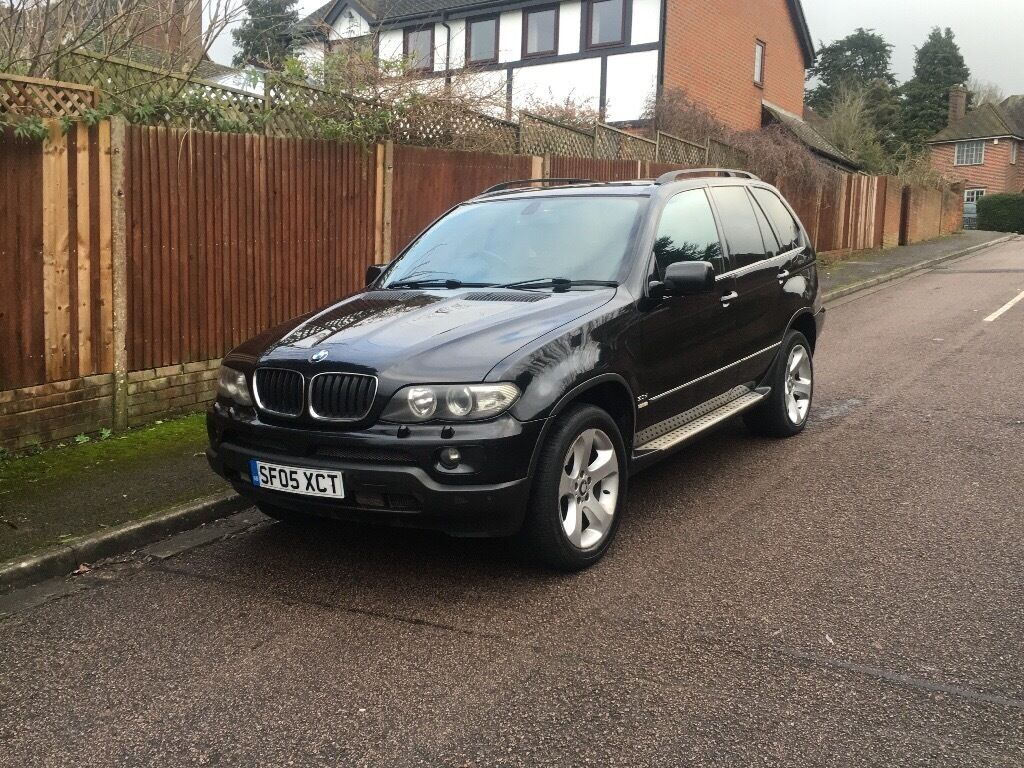 bmw x5 3 0d sport auto 2005 spears or repairs part exchange to clear in high wycombe. Black Bedroom Furniture Sets. Home Design Ideas