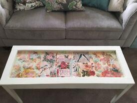 Hallway, Bedroom Storage Bench, Coffee Table - £65 ono